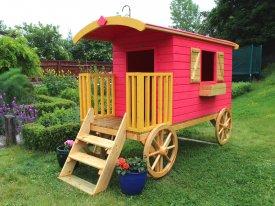 love your garden spiel wagon caravan