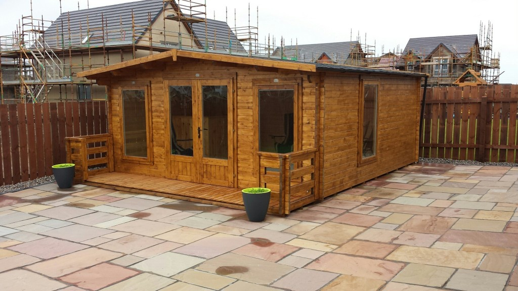"Customer Reviews of ""Severn"" Log Cabin from Dunster House"