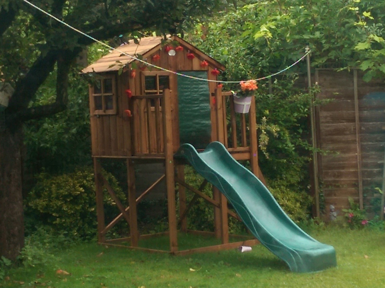 Climbing Frame from Dunster House with decoration