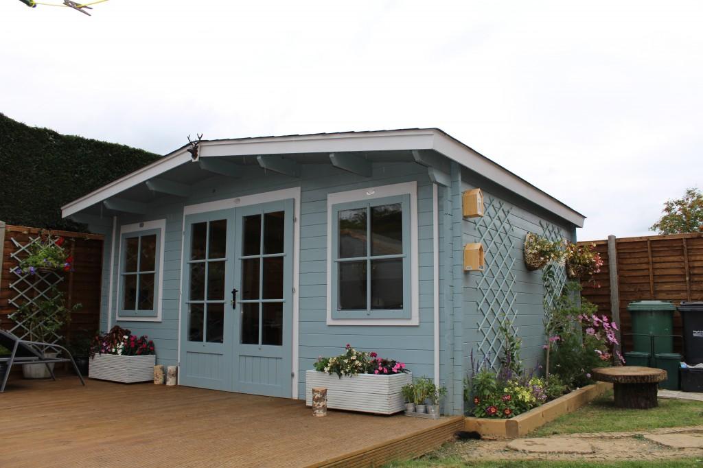 Case Study Log Cabin Exterior Design Dunster House