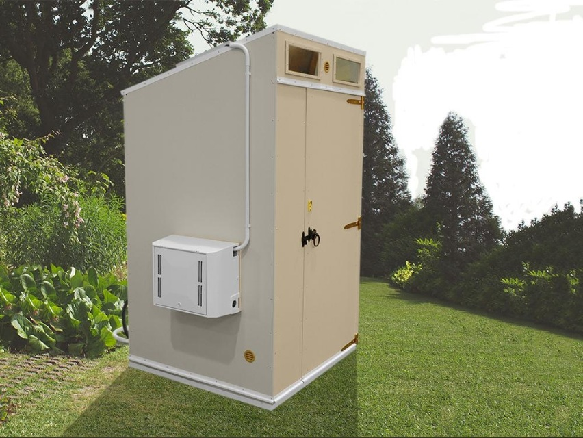 Composting Plastic Toilet from Dunster House