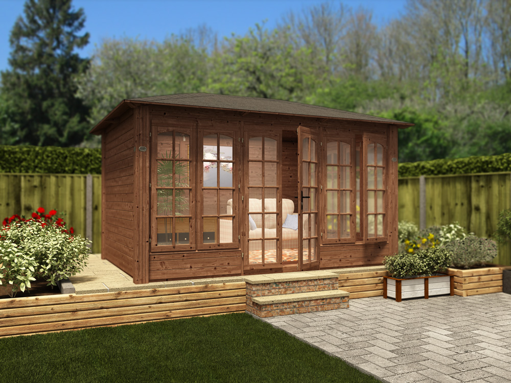 "Chunky Summerhouse ""Roget"" from Dunster House"