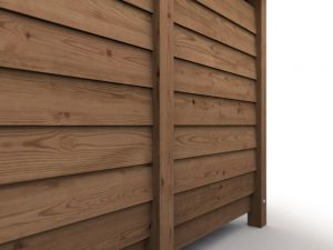 Build a Large Log Store - line up inner panels